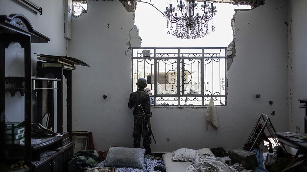 Боевики начали покидать квартал Барзе вДамаске