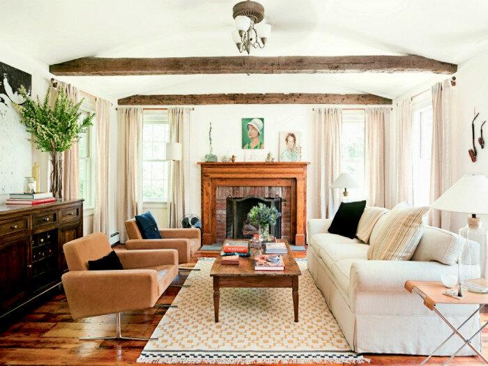 Впечатляющие интерьеры гостиных, оформленных по свежим трендам дизайна