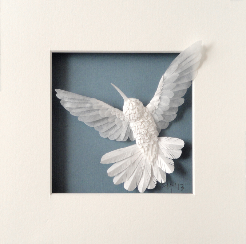 New Paper Hummingbirds by Cheong-ah Hwang