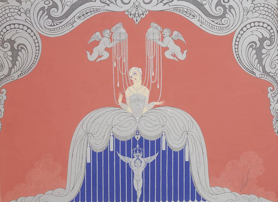 Costume pour Le Triomphe de la femme, 1926.