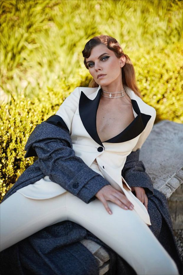 Maryna Linchuk Stars in L'Officiel Russia September 2016 Cover Story