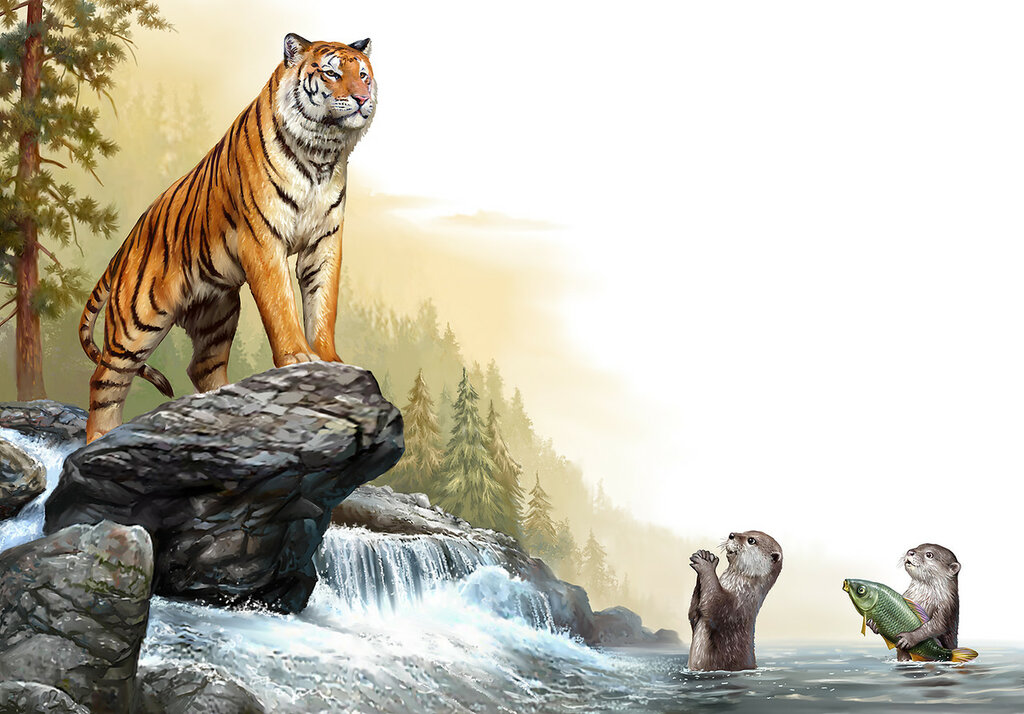 Тигр (AnimalBooks)