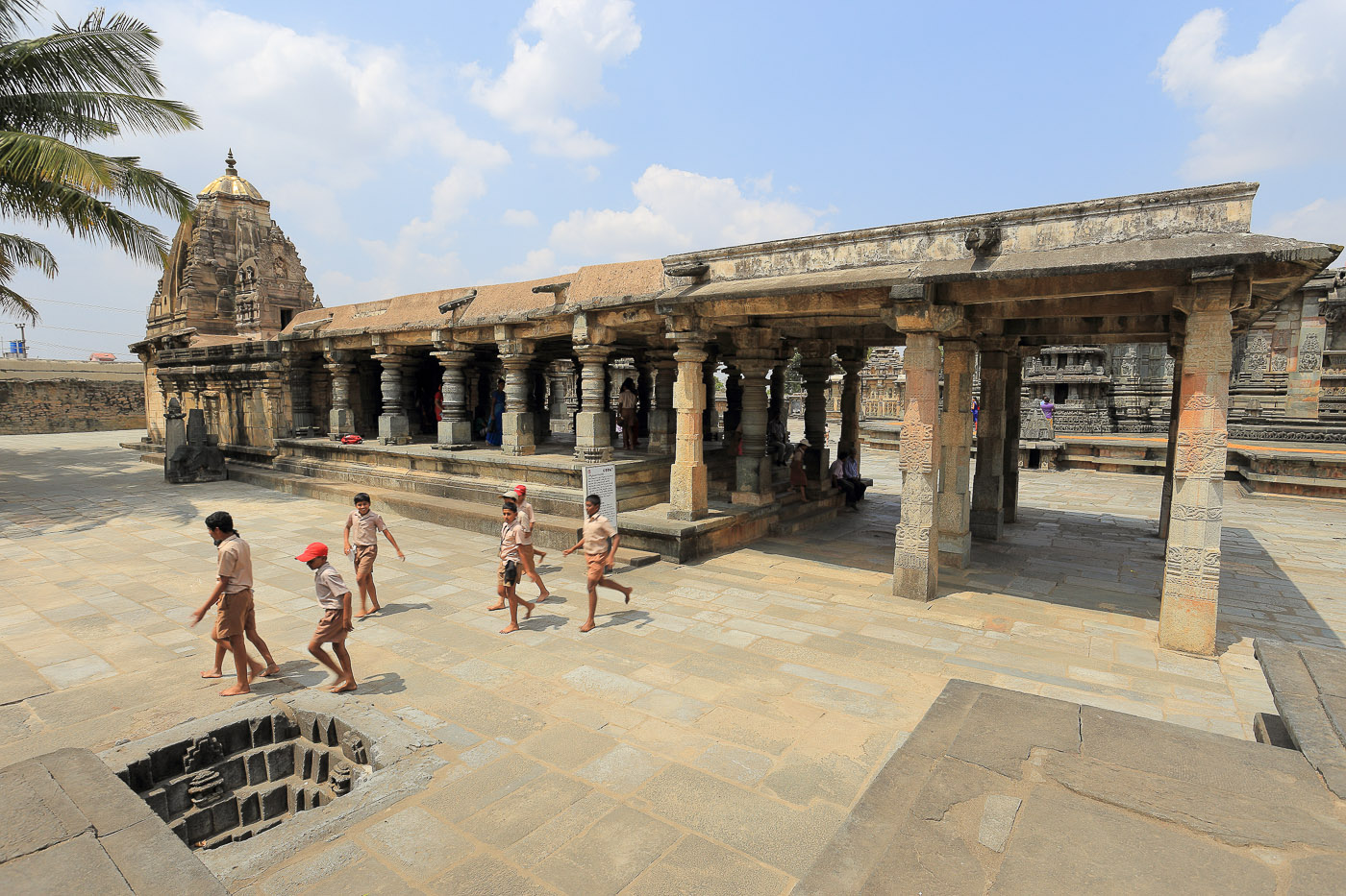 Фото № 20. Sowmyanayaki Temple – храм Лакшми. Один из малых храмов. (1/60, 0 eV, f 10, 17mm, ISO 100.