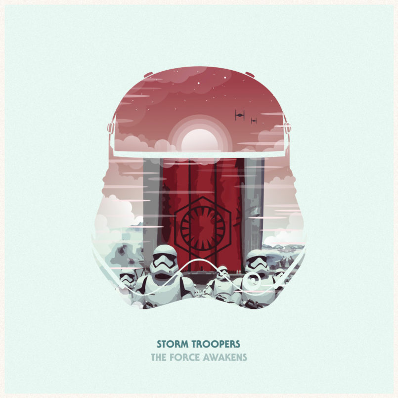 The Force Awakens: Illustrations by Philip Sultana