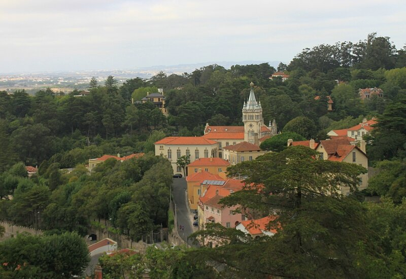 Синтра, вид сверху(Sintra, view from above)