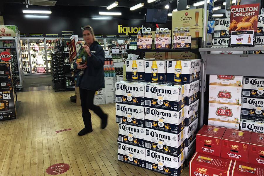 Как продают алкоголь в Австралии