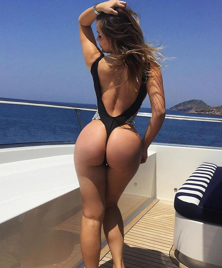Анастасия Квитко, ее громадная попа и шикарная грудь / Anastasia Kvitko & her wonderful bottom