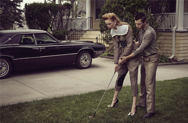Рианна ван Ромпай / Rianne van Rompaey by Craig McDean - Vogue Italia september 2016 / The Art of Storytelling