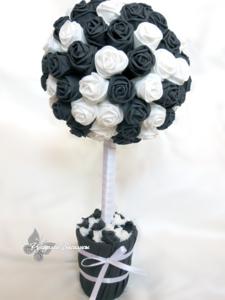 handmade, handwork, топиарий, топиарий из бумажных роз, ручная работа, дерево счастья, оригинальные подарки, подарки, европейское дерево, интерьерная композиция, розы из салфеток своими руками, творчество