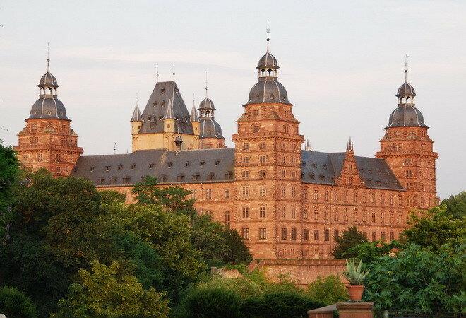 Замок Йоханнисбург. Германия