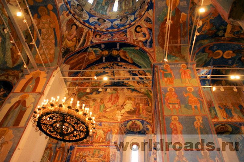 Росписи Свято-Преображенского собора