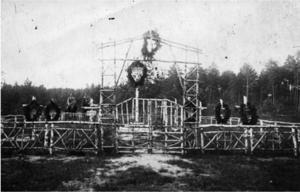 137. 1916. Австрийское кладбище около Чарторийска. Луцкий уезд Волынской губернии