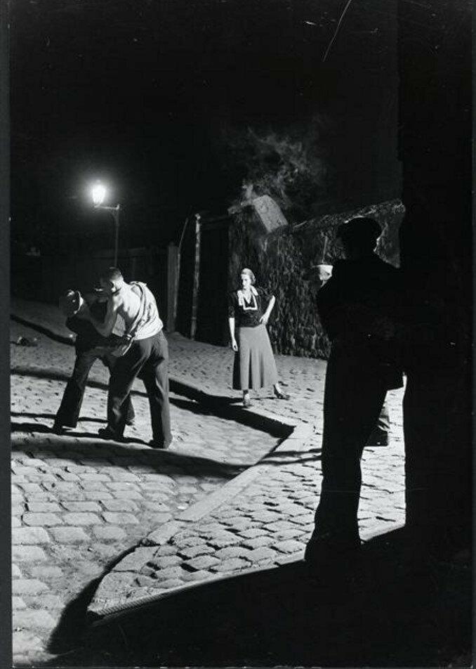 1932. Ночная сцена для детективного романа