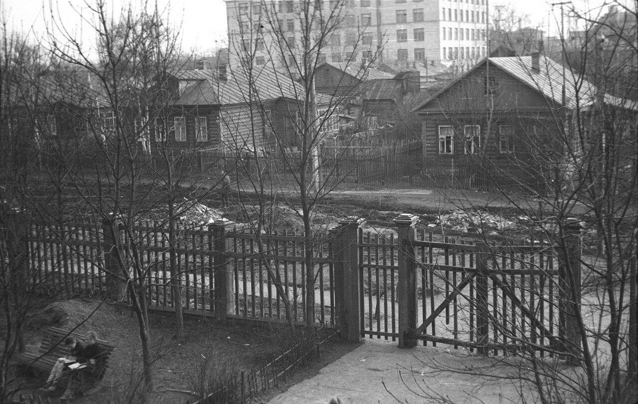 1963. Улица Первая Спортивная