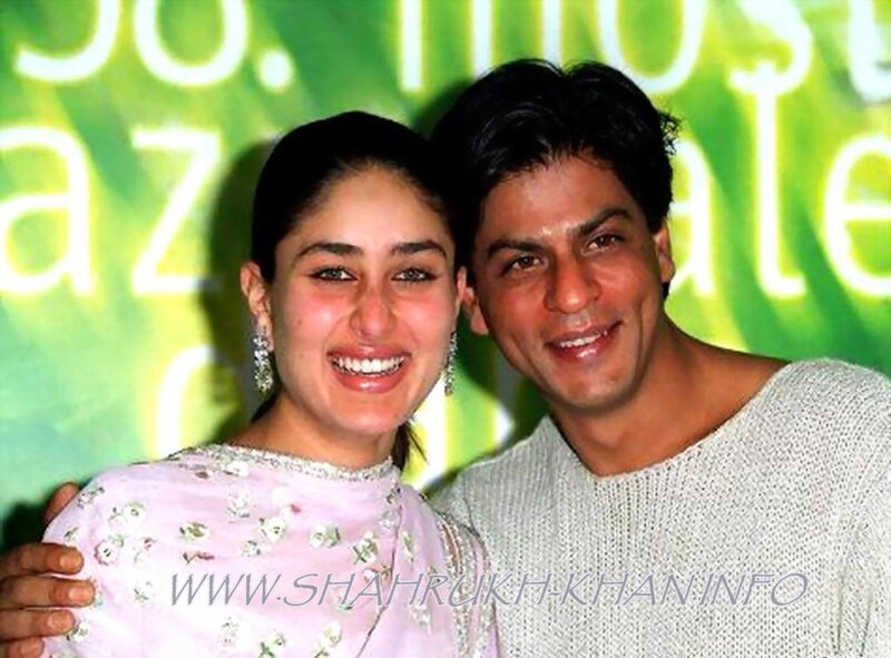 Shahrukh Khan with Kareena Kapoor