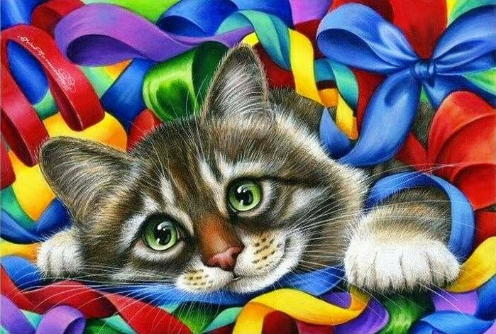 О чём мечтает кошка? Ирина Гармашова