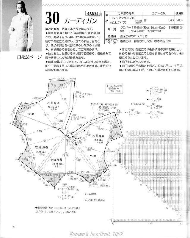 вязание из китайских журналов со схемами