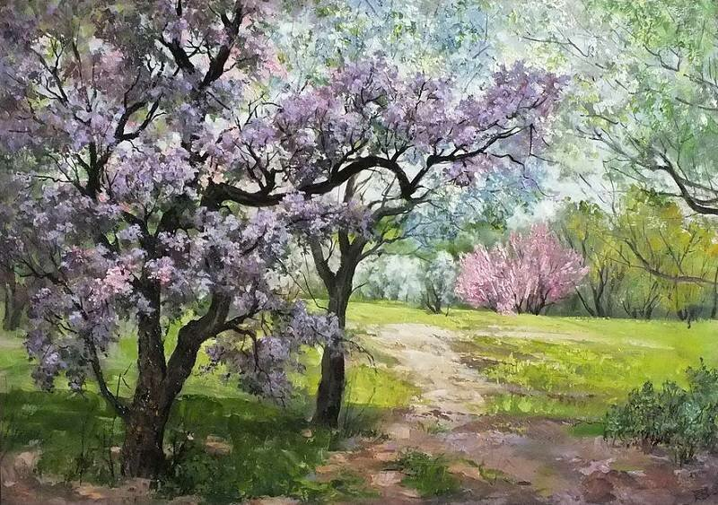 А природа - это - тайна... Пейзажи и натюрморты Татьяны Кулигиной