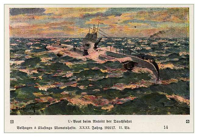 Немецкие подводники Первой Мировой