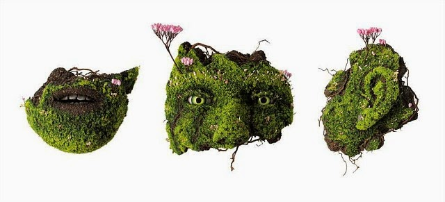 Скульптуры из растений