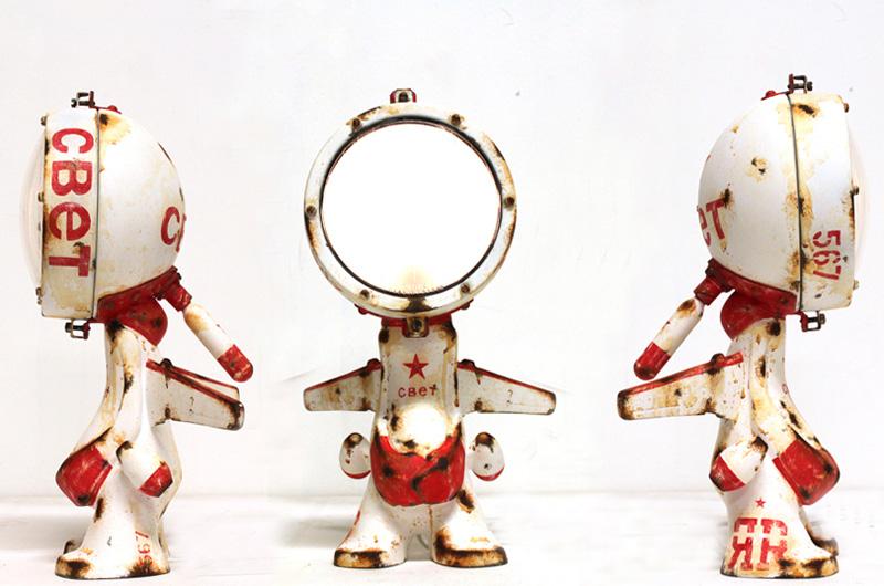 Постапокалиптические роботы (15 фото)
