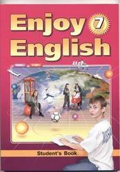 Книга Английский язык, 7 класс, Enjoy English, Биболетова М.З., 2012