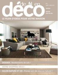 Журнал De Fil En Deco (Pays de Gex) №1 2013