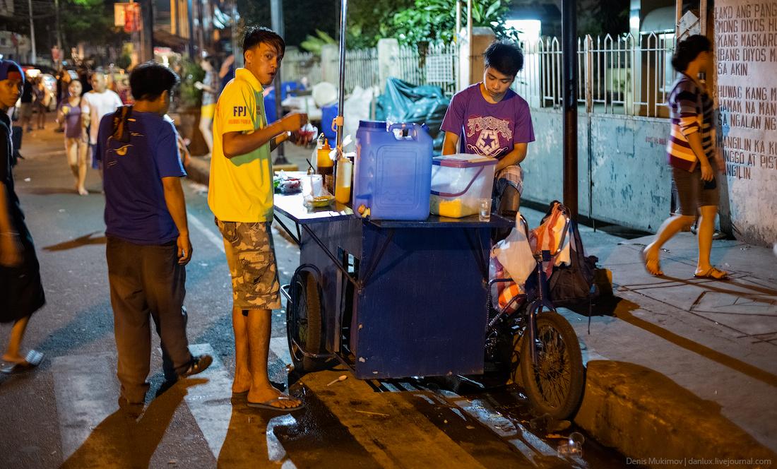 Вечерняя прогулка по Маниле