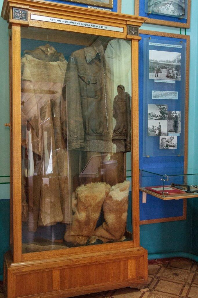 Одежда Чкалова, музей Чкалова