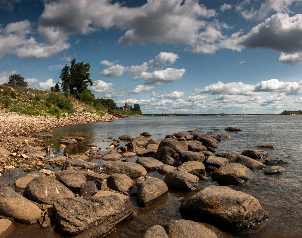 Река Вычегда