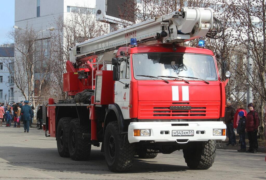 техника фото пожарная российская