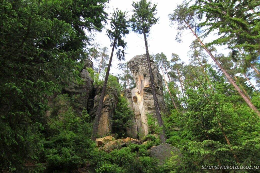 Чехия, Теплицкие скалы