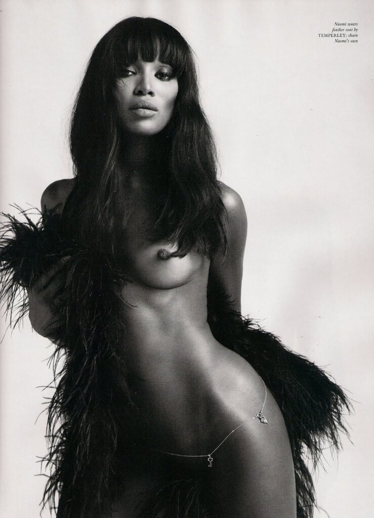 the fashion icons  naomi campbell by mert alas & marcus piggot katie grand love