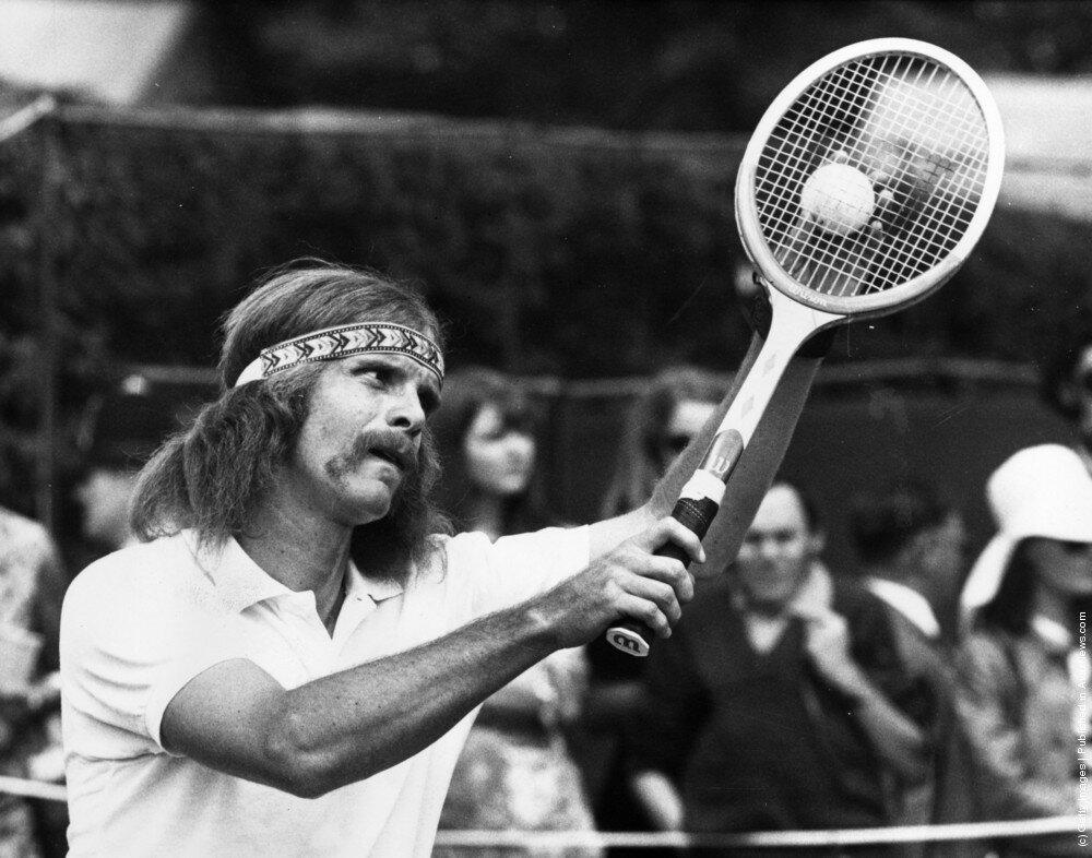 Южноафриканский теннисист Ray Moore 1971