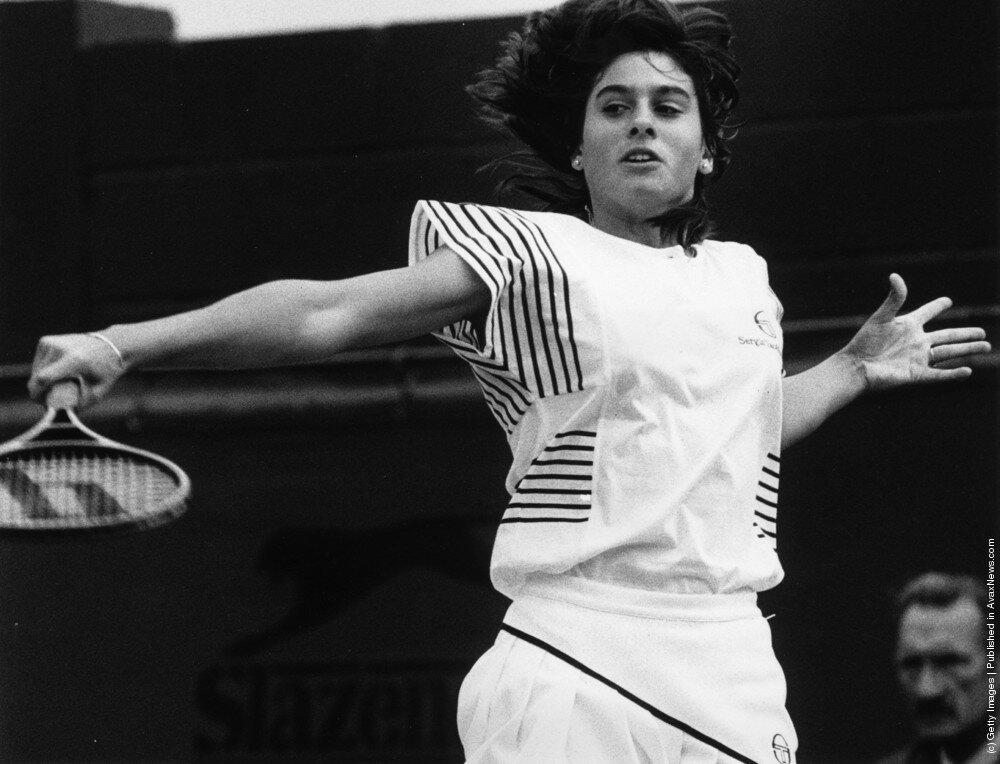 Аргентинская теннисистка Gabriela Sabatin 1985