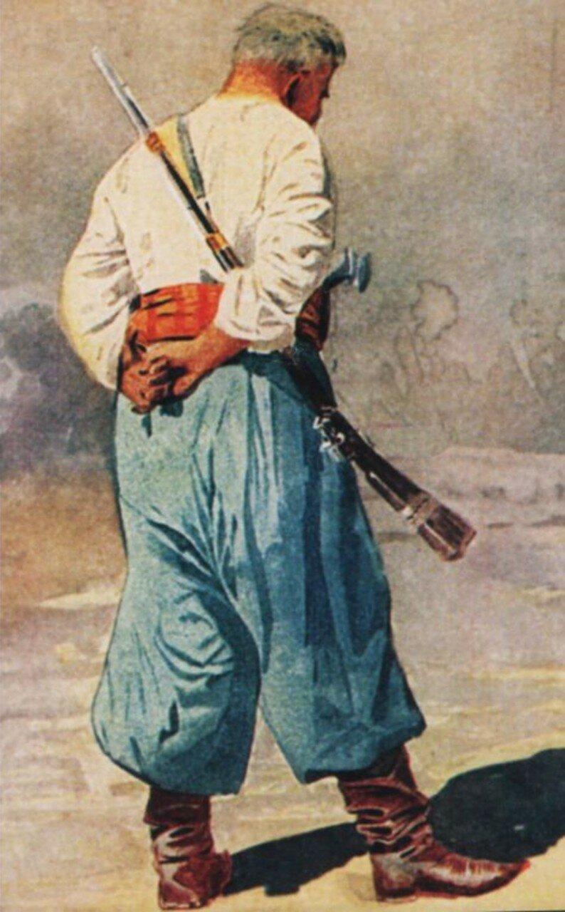 Тип запорожца, 1900