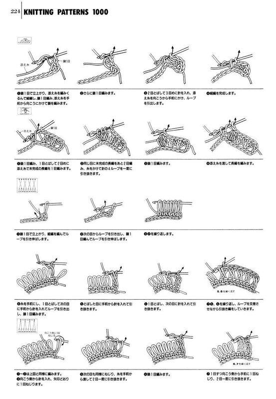 узоры для спиц и крючка