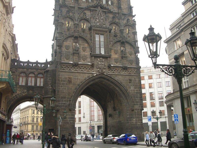 Пороховые ворота. Прага
