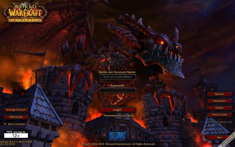 Измененный интерфейс в World of Warcraft (патчи для WoW) .