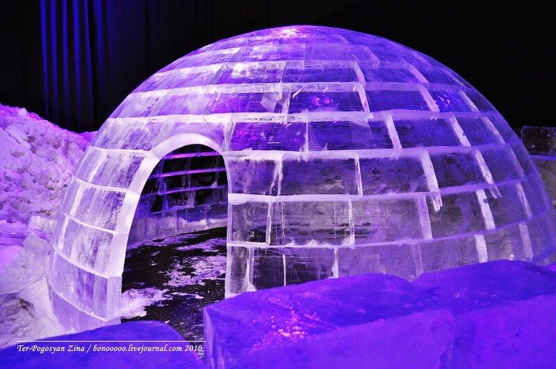 Ледяные скульптуры в Москве 2017. Где посмотреть