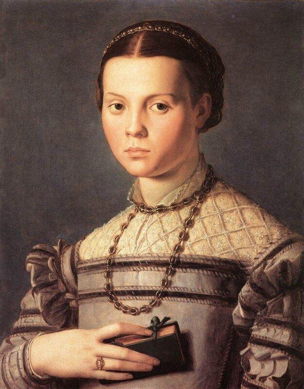 Бронзино. Портрет девушки