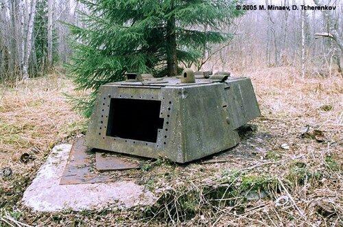 Танковая огневая точка (ТОТ) с башней КВ-1