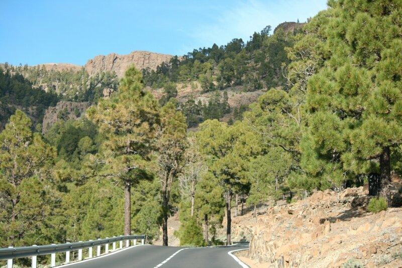 Серпантины Тенерифе, национальный парк Тейде