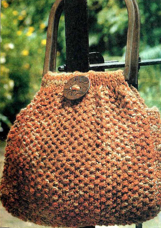 схема вязания мочалок спицами.