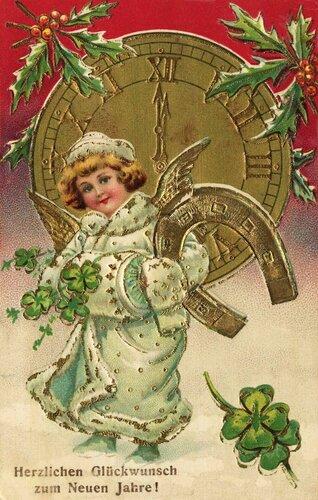 Сердечные пожелания счастья в Новом году !
