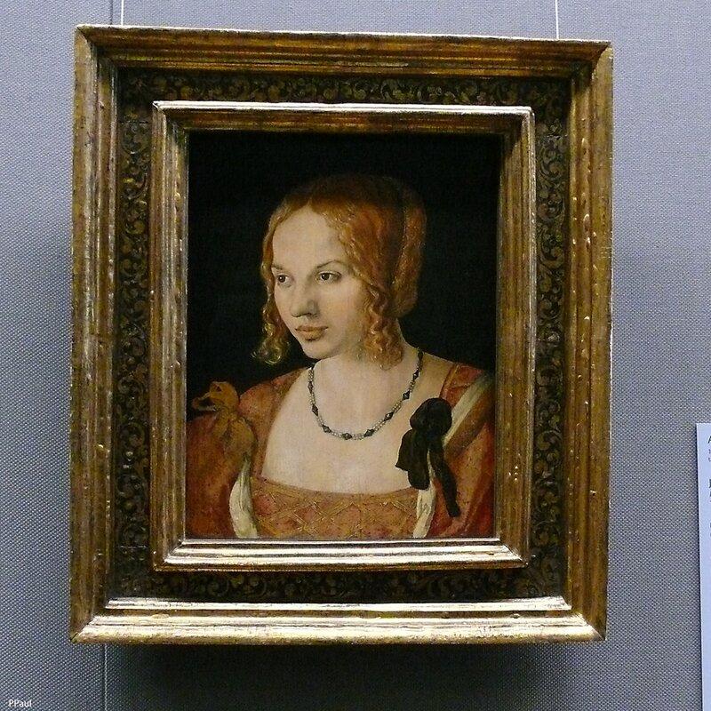 """Альбрехт Дюрер """"Портрет молодой Венецианки"""", 1505 г."""