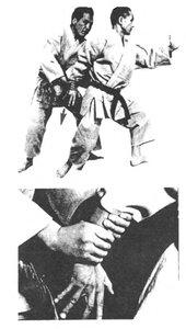 Применение Хирики - «силы локтя» (движение назад)
