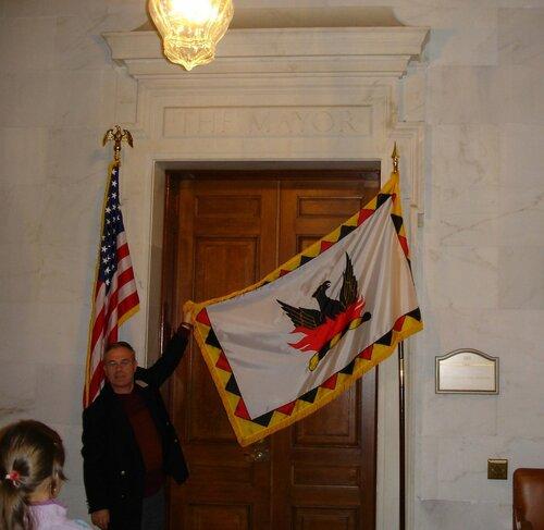 Дверь в кабинет мэра Сан-Франциско.