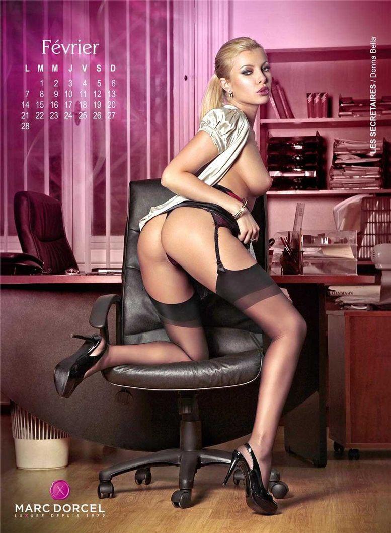 календарь Marc Dorcel 2011 calendar - Donna Bella / Les Secretaires