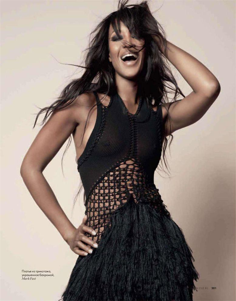 модель Наоми Кэмпбелл / Naomi Campbell, фотограф Kayt Jones